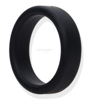 silikonowy pierścień na penisa