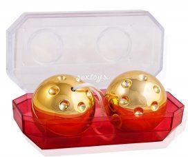 Złote kulki gejszy