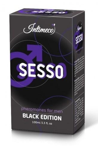Sesso Black Edition ZAPACHOWE FEROMONY MĘSKIE