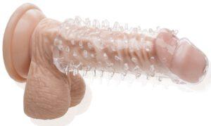 Nakładka na penisa z kolcami