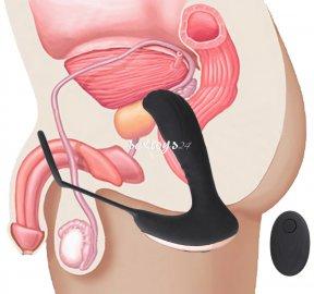 masażer prostaty sterowany bezprzewodowo