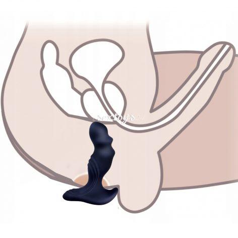 Masażer Prostaty z Wibratorem