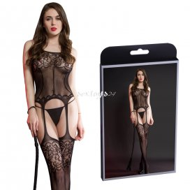 Bodystocking z pończochami