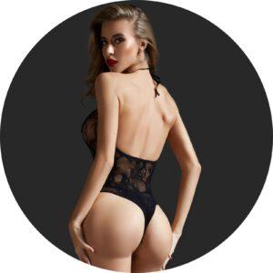 Siateczkowe Body Erotyczne Typu TEDDY + Stringi