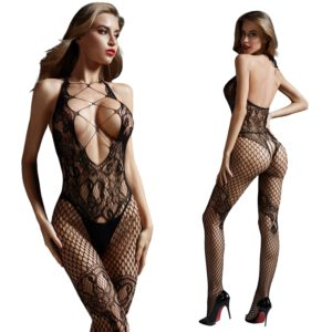Bodystocking Open Crotch