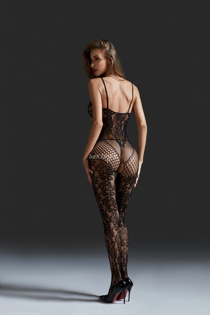 Bodystocking z dziurką